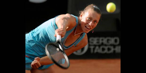 Rome : Yanina Wickmayer éliminée par Caroline Wozniacki en 8e finale