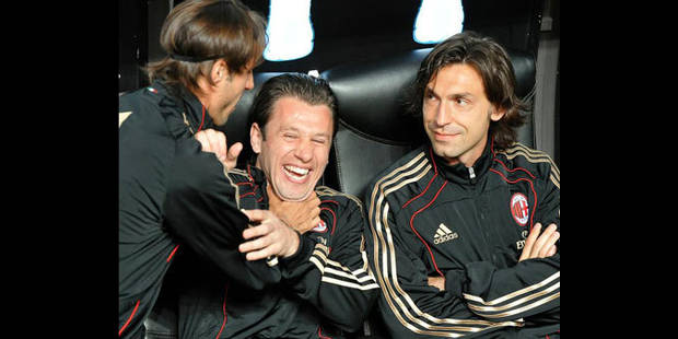 AC Milan : Pirlo quitte le club, Inzaghi prolonge