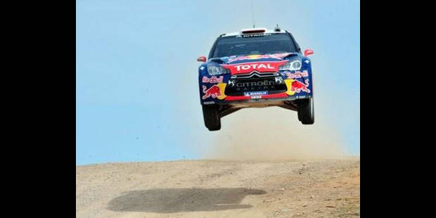 Rallye de Sardaigne: victoire de Sébastien Loeb