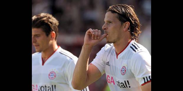 Le Bayern Munich sauve sa saison