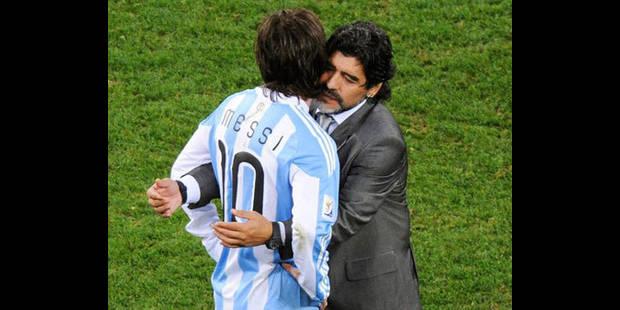 "Maradona: ""Entre Messi et moi c'est l'histoire qui décidera"" - La DH"