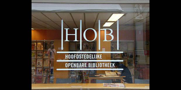 Chute de la fréquentation de la bibliothèque flamande de Bruxelles - La DH