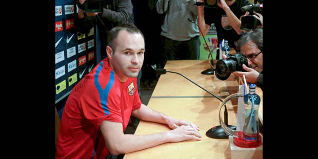 FC Barcelone: Iniesta forfait contre le Real Madrid