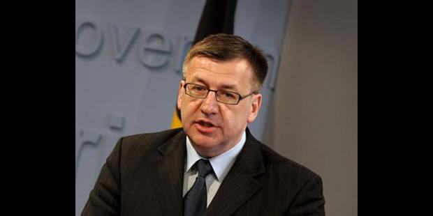 Syrie: Steven Vanackere réclame des sanctions - La DH