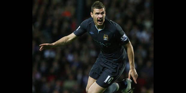 Manchester City l'emporte et se rapproche d'Arsenal