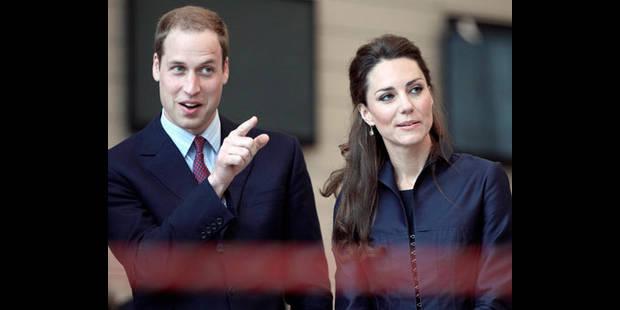 Mariage de William et Kate: une facture royale - La DH
