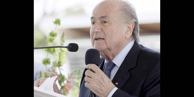 """Présidentielle FIFA -  """"stabilité et continuité"""" pour Joseph Blatter"""