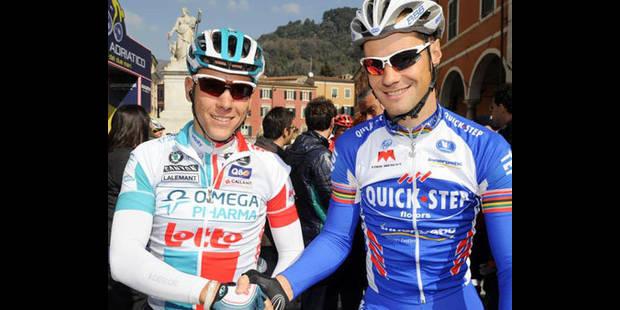 Gilbert et Boonen à Copenhague
