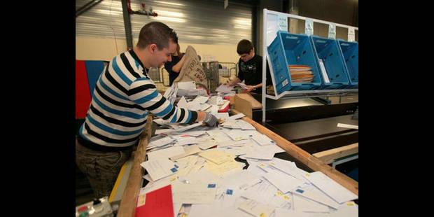 15.000 courriers perdus en  2010