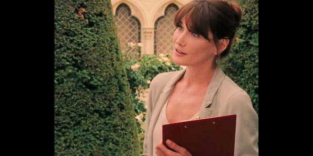 Carla Bruni chez Woody Allen:  la bande-annonce