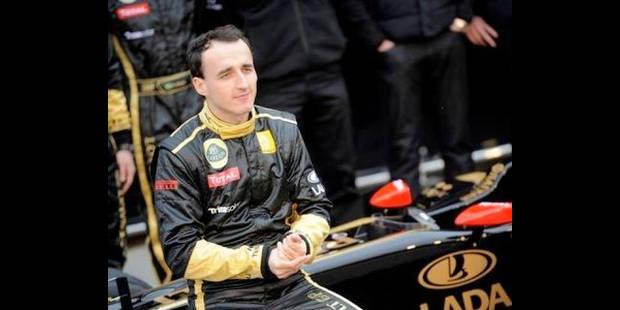 """Kubica devrait remarcher """"d'ici trois semaines"""""""