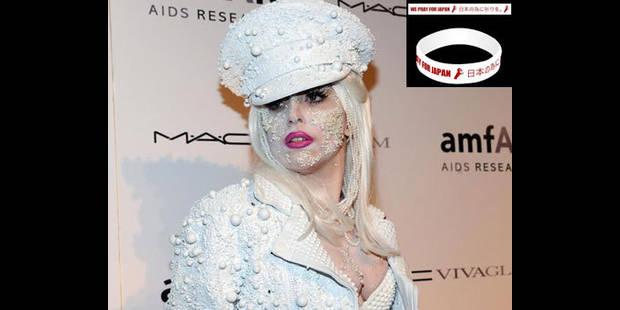 Lady Gaga lance un bracelet pour le Japon