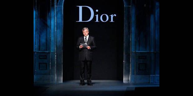 Le dernier défilé de John Galliano pour Dior