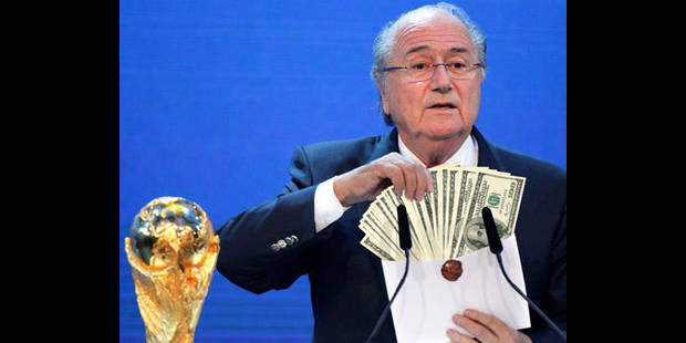 """Le Mondial-2010 en Afrique du Sud a été un """"immense succès financier"""""""