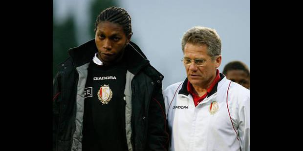 """Mbokani à Wolfsburg: """"j'y suis, j'y reste, parole de Dieu..."""""""