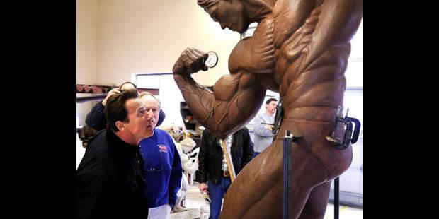 Une statue de bronze de 3 mètres de haut pour Arnold Schwarzenegger - La DH