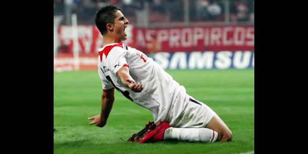 L'Olympiakos lève l'option d'achat pour Mirallas