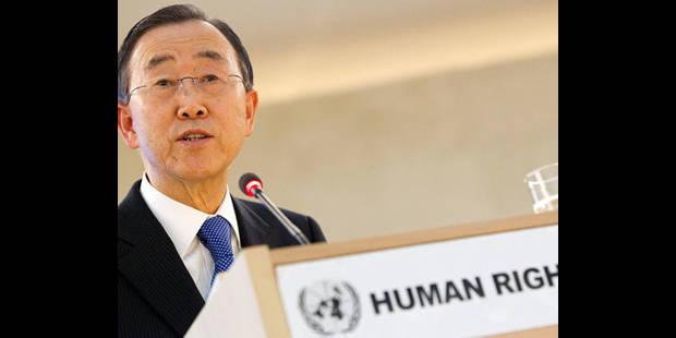 """Ban Ki-moon """"appelle à la retenue et à la non violence"""" - La DH"""