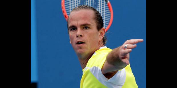 Xavier Malisse attend Federer au 3e tour de l'Open d'Australie