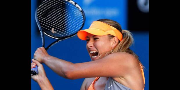 Open d'Australie: Sharapova et Venus Williams qualifiées