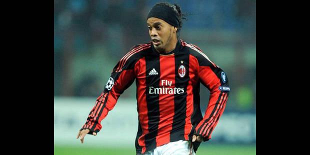 Ronaldinho a signé au Gremio - La DH