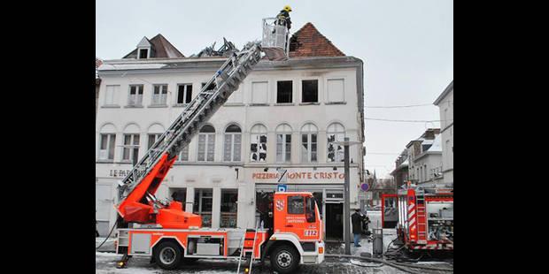 Un incendie a sévi place St-Pierre - La DH