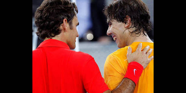 Rafael Nadal bat Roger Federer pour la bonne cause - La DH