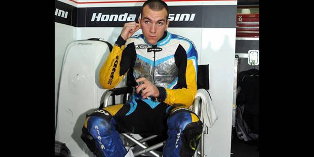 Xavier Simeon sans guidon en Moto2 pour le prochain mondial - La DH