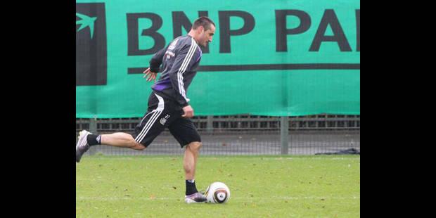 Wasilewski dans la sélection des 22 face à Charleroi