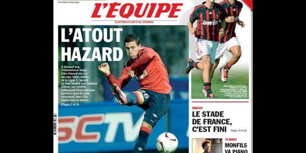 Hazard : L'Equipe également sous le charme