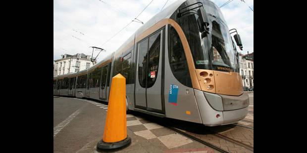 STIB: perturbations sur le trajet des trams 23, 24 et 25 - La DH
