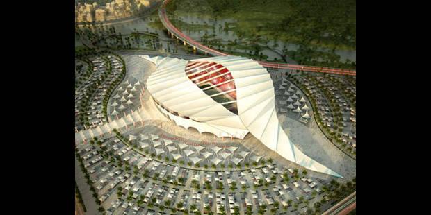 Les incroyables stades de Qatar 2022 (Vidéo) - La DH