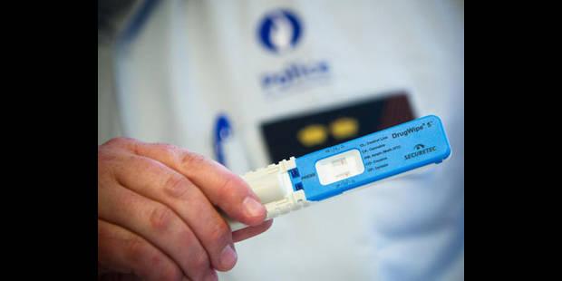 Tests salivaires de détection des drogues: tous les agents ne sont pas encore formés - La DH