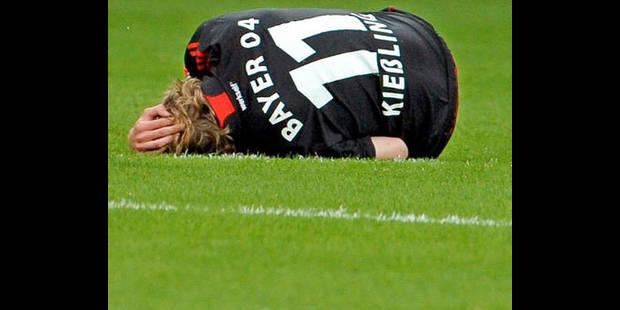 Bayer Leverkusen: Kiessling, opéré, absent 7 à 8 semaines - La DH