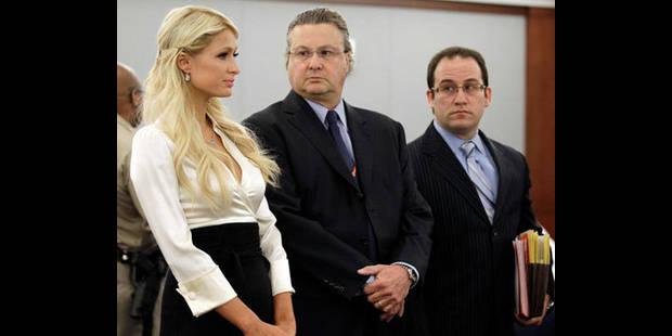 Paris Hilton plaide coupable... - La DH