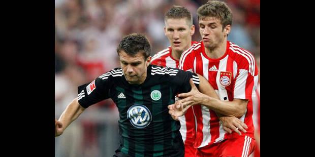 Le Bayern Munich écoeure Wolfsburg