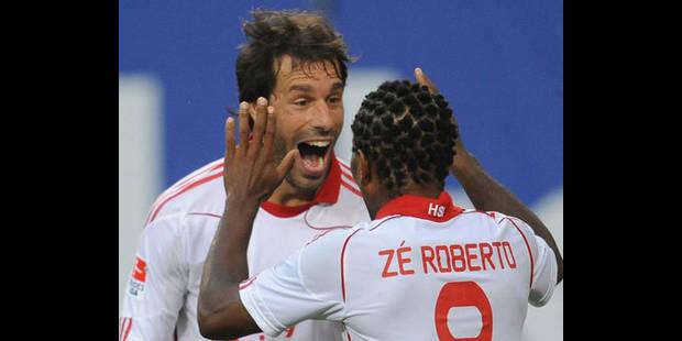 Bundesliga/1ère j.: Van Nistelrooy libère Hambourg