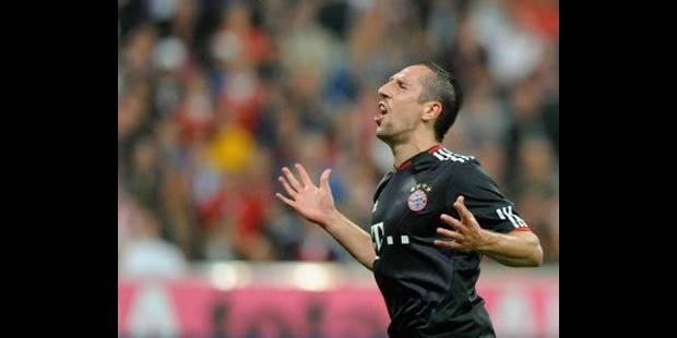 Allemagne: Ribéry, joueur le mieux payé de Bundesliga