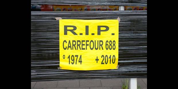 Fermeture définitive de 8 hypermarchés Carrefour samedi - La DH
