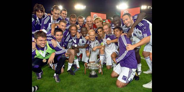 Anderlecht remporte la Supercoupe 1-0