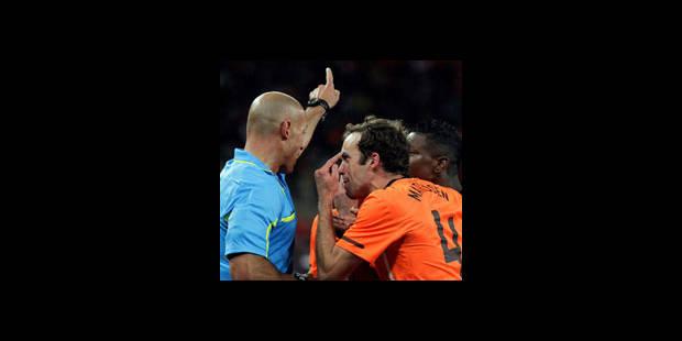 Les Néerlandais remontés contre l'arbitre