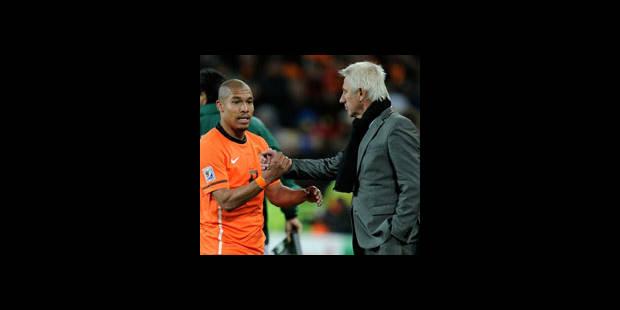 """Van Marwijk : """"L'Espagne méritait de gagner"""""""