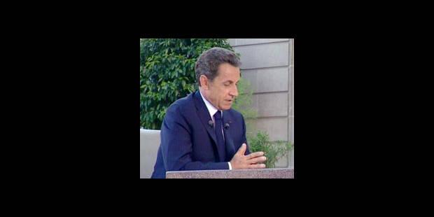 """Sarkozy déplore """"le visage désastreux"""" des Bleus"""