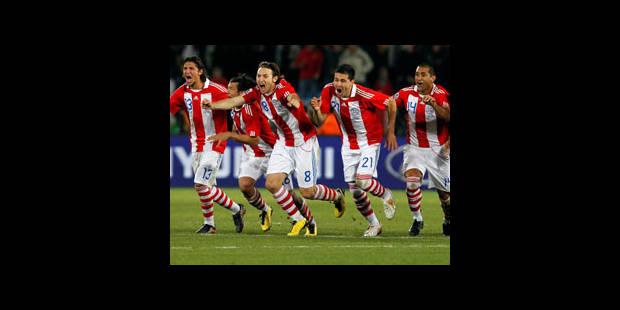 Le Paraguay se qualifie aux tirs au but