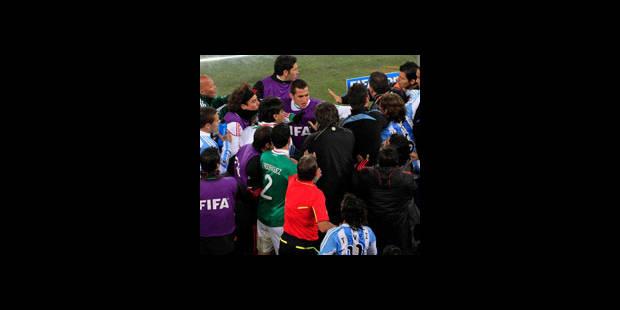 Pour… l'Argentine, on a frôlé l'assistance-vidéo