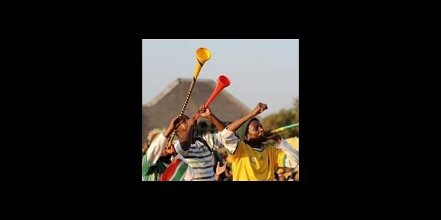 Les Allemands inquiets du bruit des vuvuzelas