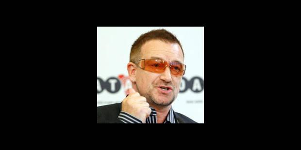 Bono sort de l'hôpital