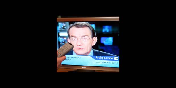 Les Bruyères, privées de Belgacom TV