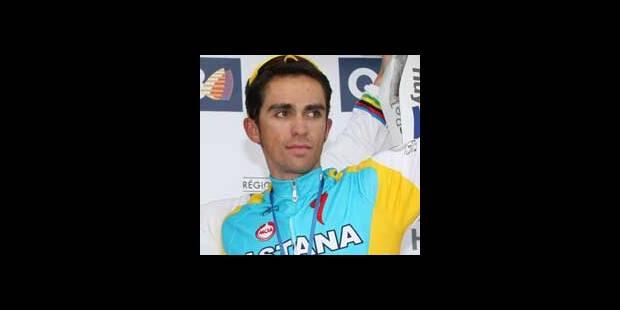"Contador : ""Normal de ne pas gagner"""