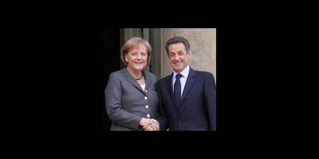 Accord entre France et Allemagne sur l'aide � la Gr�ce
